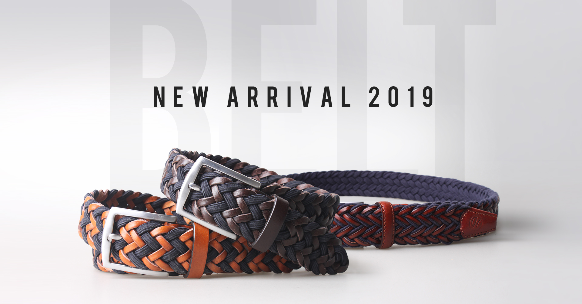 New Arrival for Braided Belt