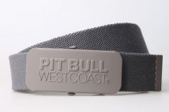 Canvas Belt With Rubberized Buckle